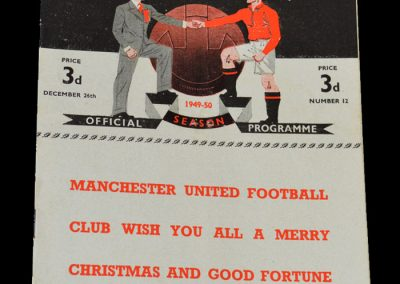 Arsenal v Man Utd 26.12.1949