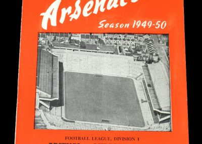 Arsenal v Middlesbrough 08.03.1950