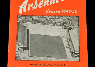 Arsenal v Man City 01.04.1950