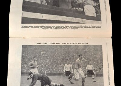Arsenal v Portsmouth 03.05.1950