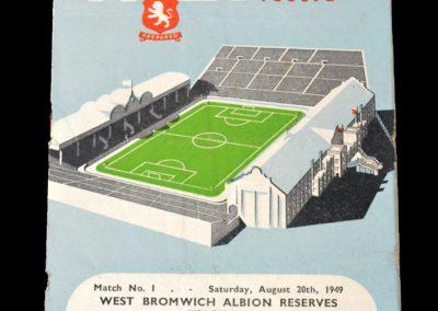 Derby v Aston Villa 23.08.1949