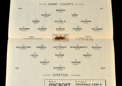 Derby v Everton 15.04.1950