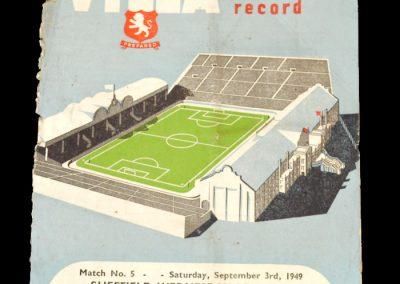 Aston Villa v Portsmouth 05.09.1949