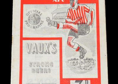 Man City v Sunderland 25.08.1951