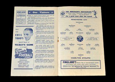 Man City v Charlton 27.10.1951