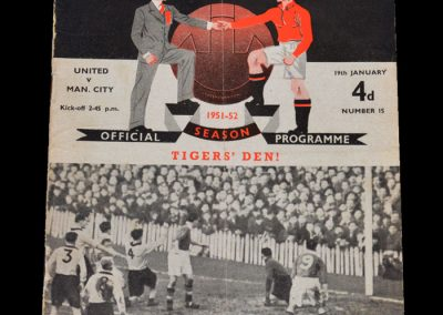 Man City v Man Utd 19.01.1952