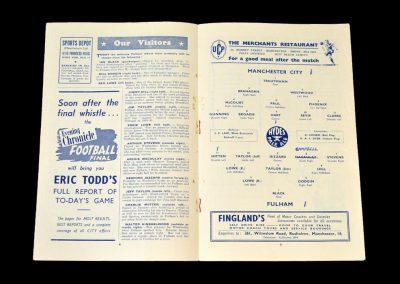Man City v Fulham 22.03.1952
