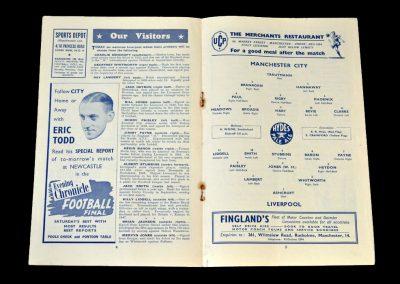 Man City v Liverpool 11.04.1952
