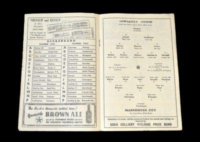 Man City v Newcastle 12.04.1952