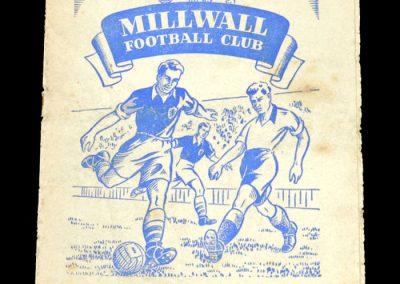 Millwall v Man Utd 10.01.1953 - FA Cup 3rd Round