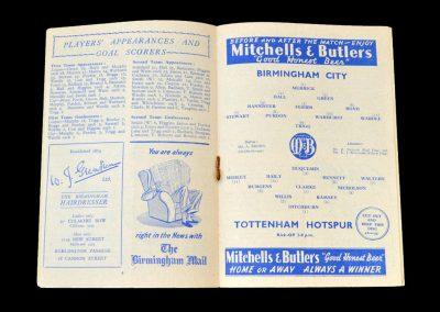Birmingham v Spurs 28.02.1953 - FA Cup 6th Round