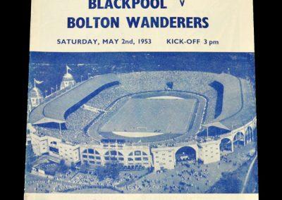 Blackpool v Bolton 02.05.1953 - FA Cup Final