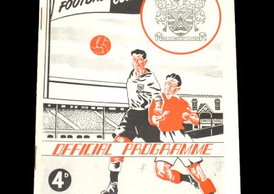 Fulham v Luton 06.09.1952