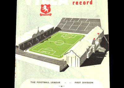 Aston Villa v Bolton 04.10.1952