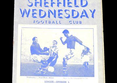 Sheff Wed v Cardiff 03.01.1953