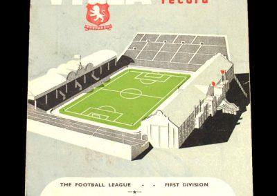 Aston Villa v Derby 03.01.1953