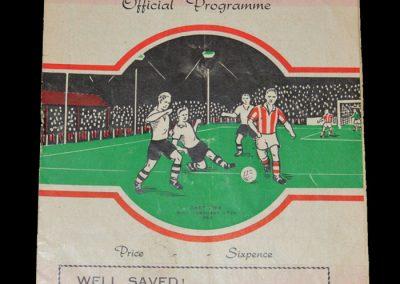 Gloucester v East Fife 16.02.1953