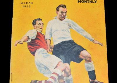 Buchans Football Monthly - March 1953