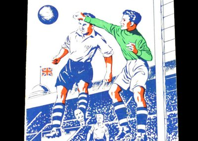 England Schools v Wales Schools 28.03.1953 (Charlton & McGuiness)