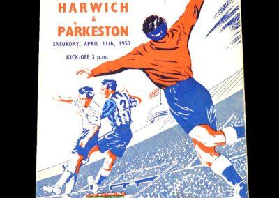 Pegasus v Harwich 11.04.1953 - FA Amateur Cup FInal