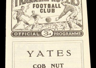 Tranmere Rovers v Hull City 27.03.1959