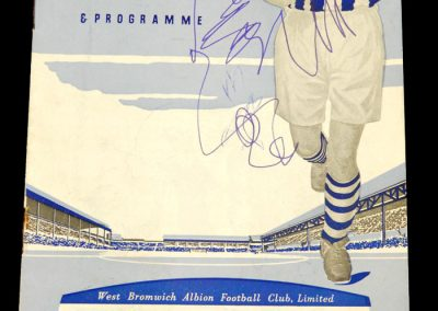 West Bromwich Albion v Luton Town 15.04.1959