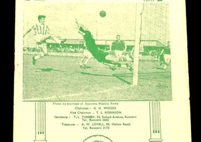 Runcorn v Witton 19.09.1964