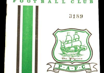 Plymouth v Spartak 12.10.1964