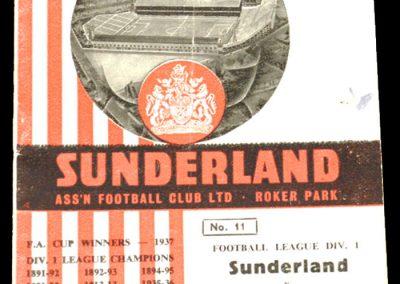 Sunderland v Fulham 17.10.1964
