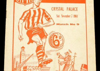 Southhampton v Crystal Palace 07.11.1964