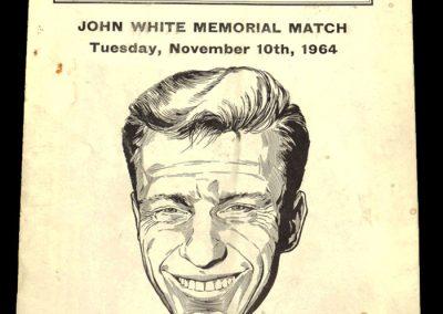 John White Memorial Match | Spurs v Scotland 10.11.1964