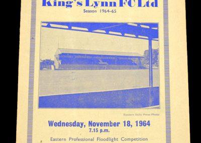 Kings Lynn v Chelmsford 18.11.1964