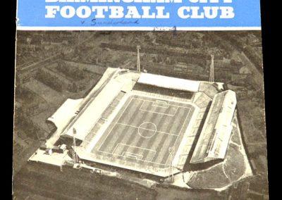Birmingham v Sunderland 05.12.1964