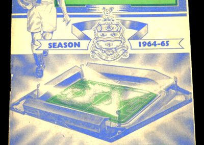 Blackburn rovers FC v Sheffield Wednesday 12.12.1964 | Postponed