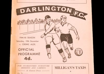 Darlington v Crewe 19.12.1964