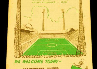 Newcastle United v Manchester United 13.09.1958