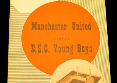 Manchester United v BSC Young Boys 01.10.1958