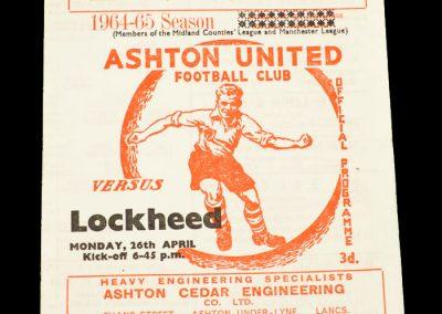 Ashton v Lockhead 26.04.1965