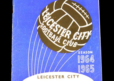 Leicester City v Manchester United 29.08.1964