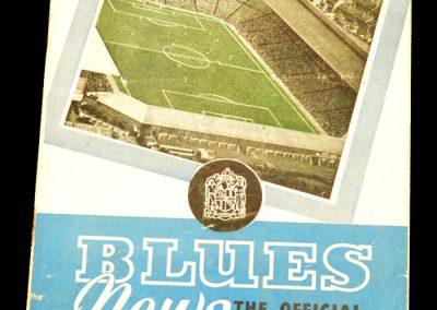 Birmingham City v Manchester United 29.11.1958