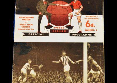 West Ham United v Manchester United 02-09-1964