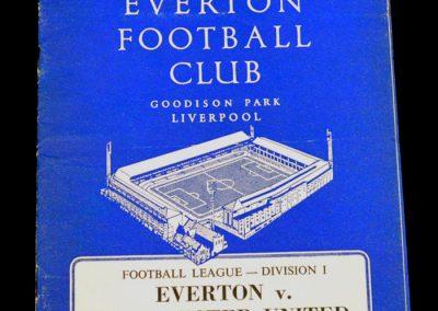 Everton v Manchester United 08.09.1964