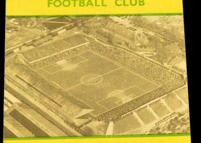 Norwich City v Manchester United 10.01.1959   FA Cup