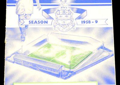 Blackburn Rovers FC v Manchester United 17.01.1959   Postponed