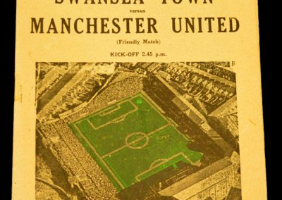 Swansea Town v Manchester United 24.01.1959