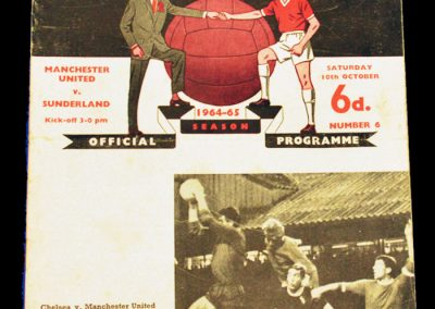 Sunderland v Manchester United 10.10.1964