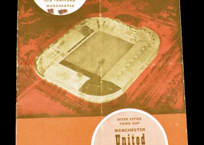Djurgardens v Manchester United 27.10.1964 | Inter-Cities Fairs Cup | 1st Round 2nd Leg