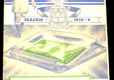 Blackburn Rovers v Manchester United 02.03.1959