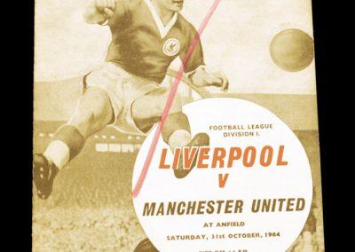 Liverpool v Manchester United 31.10.1964