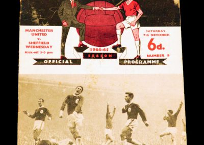 Manchester United v Sheffield Wednesday 07.11.1964